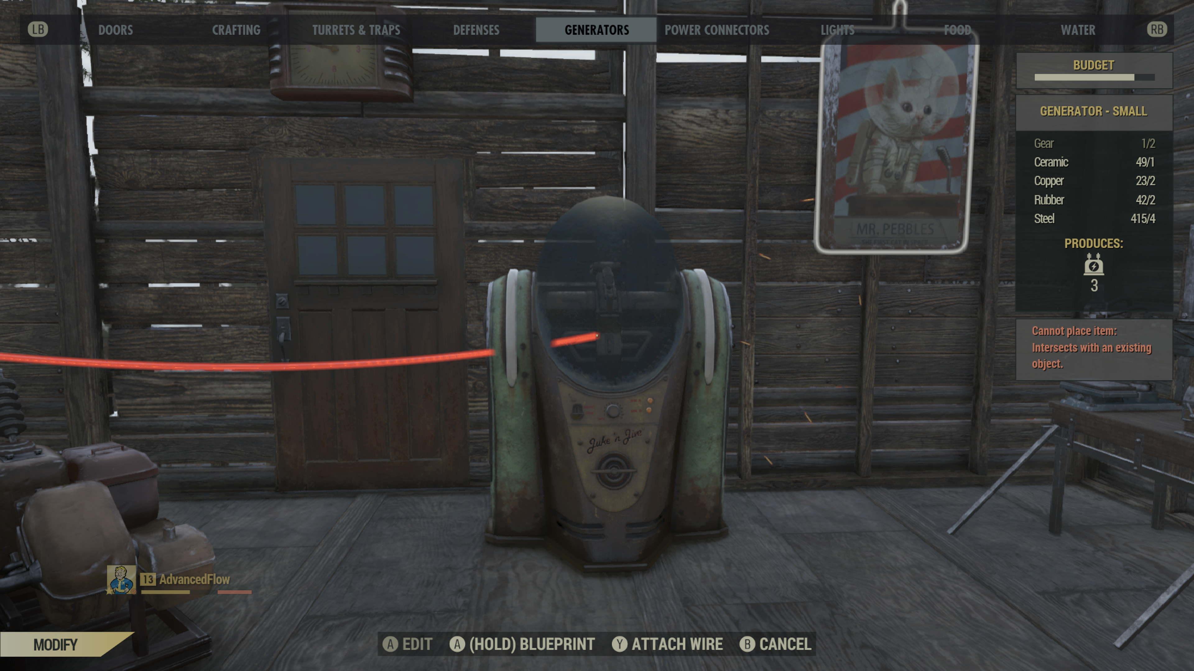 Fallout 76 How To Run Wires Through Walls: How do I power my jukebox lights and posters with lights? : fo76rh:reddit.com,Design
